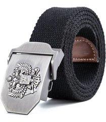 cinturon tactico reata emblema ruso unisex 1502 negro 130cm
