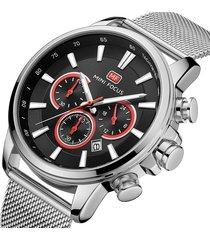reloj mini focus mf0142g-1 para hombre-plata