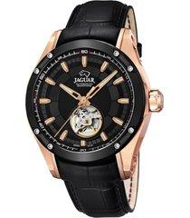 reloj automatic negro jaguar