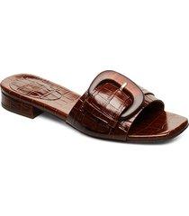 slipper 4021 shoes summer shoes flat sandals brun billi bi