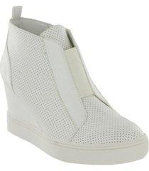 mia women's cristie hidden wedge sneakers women's shoes
