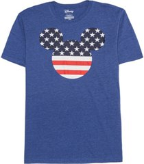 hybrid men's americana mickey stars and stripes t-shirt