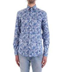 overhemd korte mouw calvin klein jeans k10k105411