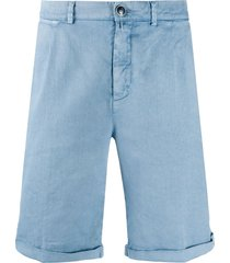 jacob cohen tailored bermuda shorts - blue