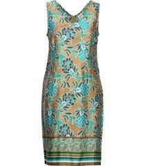 bahiacr dress korte jurk multi/patroon cream