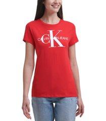 calvin klein jeans crewneck logo t-shirt