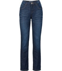 jeans termici elasticizzati straight (blu) - john baner jeanswear