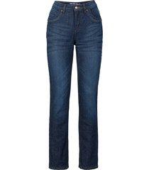jeans termico elasticizzato straight (blu) - john baner jeanswear