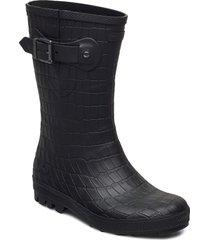 hedda croco regnstövlar skor svart viking
