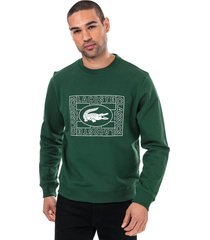 mens print logo sweatshirt