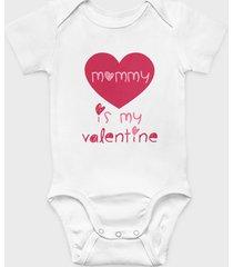 body dziecięce mommy is my valentine