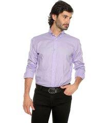 camisa 0001/20 lila preppy ml cfit unicolor bd