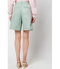résumé women's demi shorts - green - dk 40/uk 12