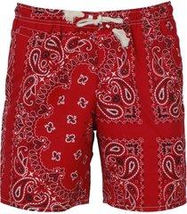 mc2 saint barth bandana print swimshorts