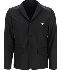 prada re-nylon gabardine jacket