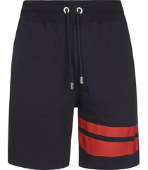 gcds logo embroidered shorts