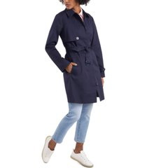 riley & rae georgie belted trench coat, created for macy's