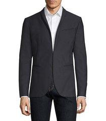 garment dyed shawl collar jacket