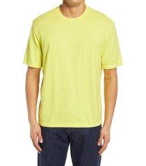 men's ag arc crewneck t-shirt, size xx-large - yellow
