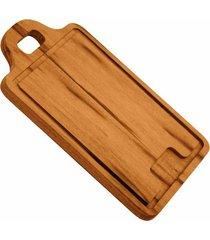 tábua para churrasco tramontina em madeira muiracatiara 34x23cm