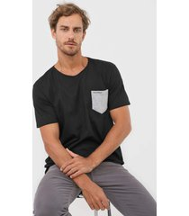 camiseta yachtsman bolso preta