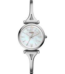 women's fossil mini carlie bracelet watch, 28mm