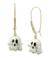 betsey johnson ghost dangle earrings