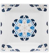 conjunto de 6 pratos fundos 21x21cm quartier babet - multicolorido - dafiti