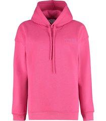 ganni hooded sweatshirt