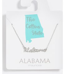 maurices womens dainty alabama necklace gray