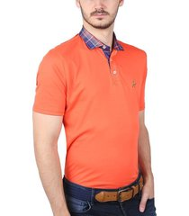 polo contraste living coral ref. 130030220