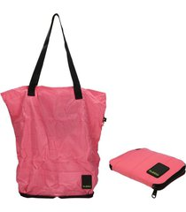 shopping bag  matte  chic fucsia bubba bags