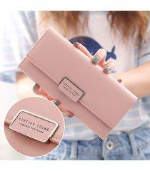 elegante portafogli personaggio per donna in pelle pu frizioni borsa portafoglio portafoglio borsa