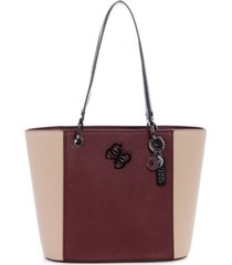 guess noelle small elite tote