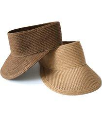 cappello estivo con visiera pieghevole da donna