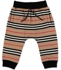 mini lance icon stripe sweatpants