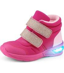 zapatilla con caña space wave 2. hot pink fucsia bibi
