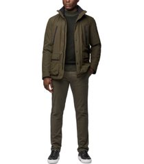 boss men's water-repellent padded jacket