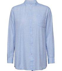 always shirt chambray overhemd met lange mouwen blauw moshi moshi mind