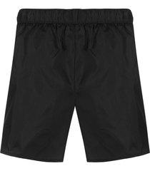 acne studios plain swim shorts - black