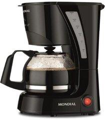 cafeteira pratic mondial preta 17 xicaras de café 110v