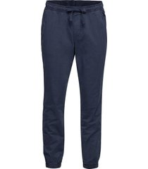 slim canvas joggers with gapflex casual byxor vardsgsbyxor blå gap