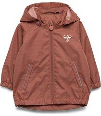 hmlbassa jacket outerwear rainwear jackets roze hummel