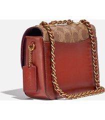 coach women's signature madison shoulder bag 16 - tan rust