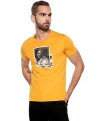 camiseta amarillo americanino