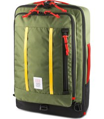 men's topo designs travel backpack - green