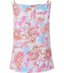 pyjama 100% katoen print van charmor wit