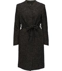 grivelle helga coat yllerock rock svart bruuns bazaar