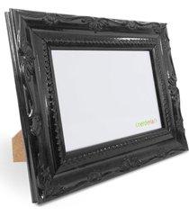 porta retrato 15x21 cm nerderia e lojaria retro preto preto