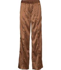 kasyaiw pant wijde broek bruin inwear